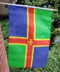 HAND WAVING FLAG - Lincolnshire